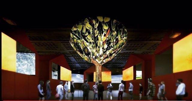 Pabellón de España en la Expo de Astaná