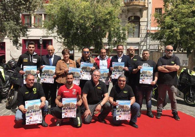 Presentación de la 41 Vuelta a Mallorca en moto