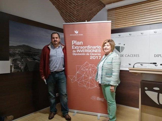 PLan Extraordinario de Inversiones de la Diputación de Cáceres