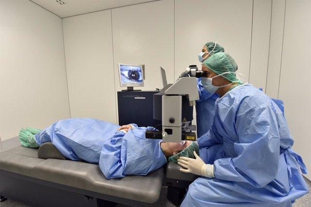 Revisione oftalmolígica de Santa Clotilde