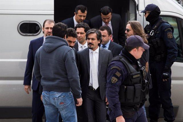 Militares turcos que huyeron a Grecia tras la intentona golpista