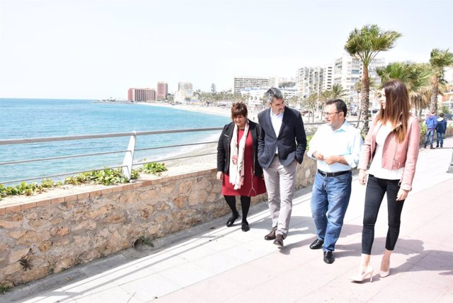 MAH Heredia Victor navas alcalde benalmádena playas paseo marítimo