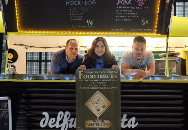 Presentación del Campeonato de España de food trucks