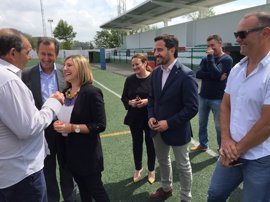 Irene García comprueba los resultados del Plan Invierte en Chiclana