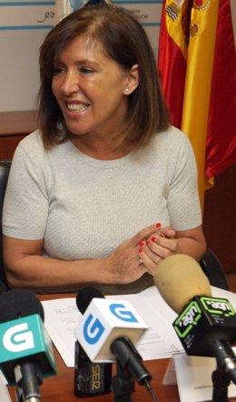 La conselleira de Medio Ambiente e Ordenación do Territorio, Beatriz Mato