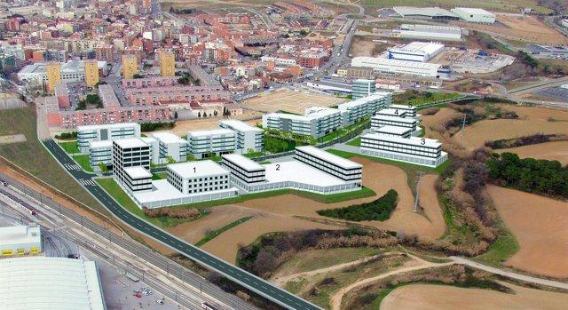 El sector de ampliación de Can Sant Joan, en Rubí
