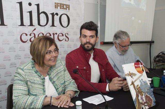 Presentación de cuentos de la Diputación de Cáceres