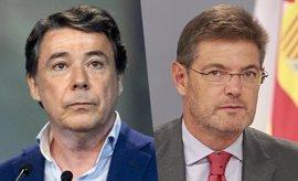 """Catalá niega que tenga que ver con """"cuestiones judiciales"""" el SMS que envió a González, que """"nunca"""" le ha pedido ayuda"""