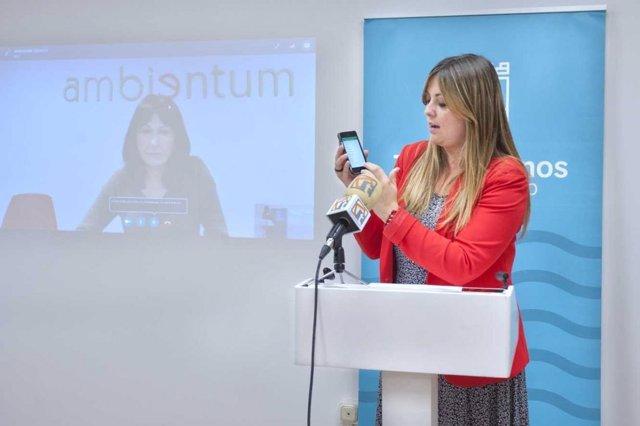 Aida blanes aplicación móvil participación incidencias linea verde móvil