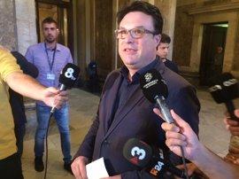 Nuet sospecha que el TSJC le imputa ahora por defender a la Mesa del Parlament
