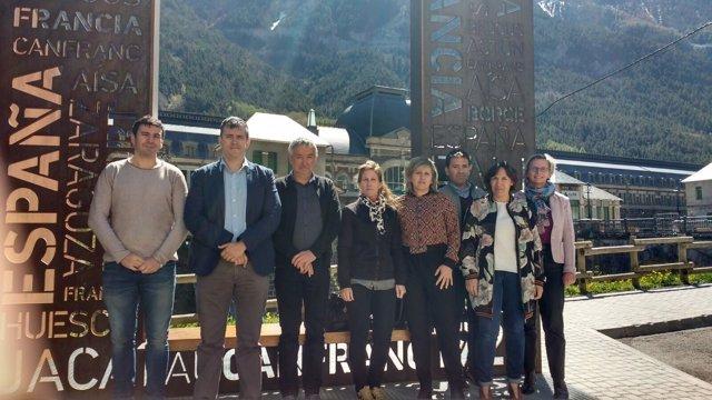 Reunión del POCTEFA en Canfranc (Huesca)