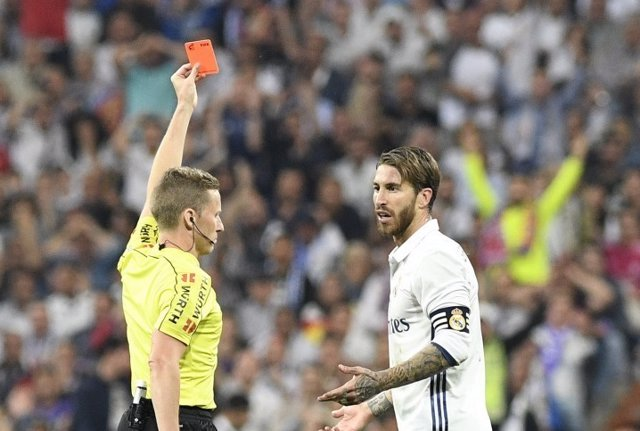 El defensa y capitán del Real Madrid, Sergio Ramos