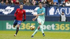 El Barça defiende el triunfo en el Clásico ante el colista