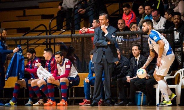 David Madrid, entrenador del Levante UD FS