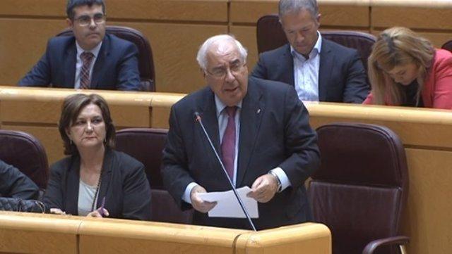 Vicente Álvarez Areces en el Senado