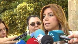 """Susana Díaz ve una """"inmoralidad"""" el SMS de Catála a Ignacio González"""