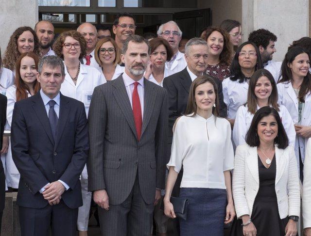 Los Reyes de España visitan la ULL