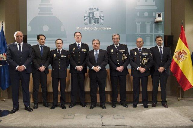 Zoido preside la toma de posesi n de losada pe a y Gobierno de espana ministerio del interior