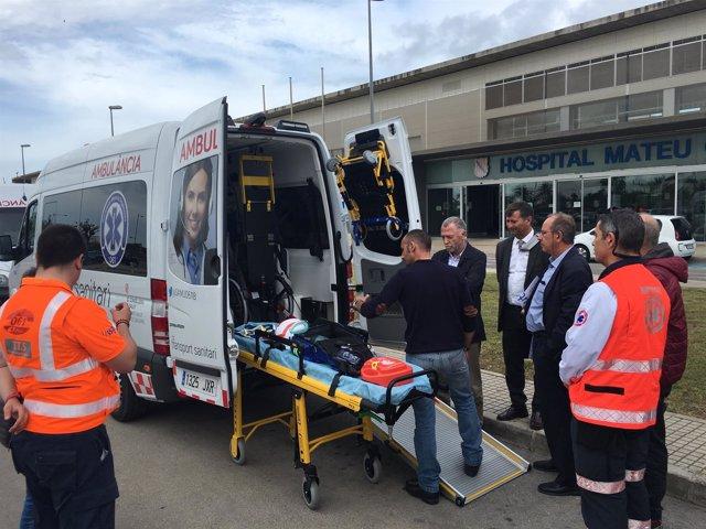 Nuevas ambulancias en Menorca