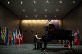 Ocho pianistas se disputan el pase a la final del 59º Premio 'Jaén' de Piano