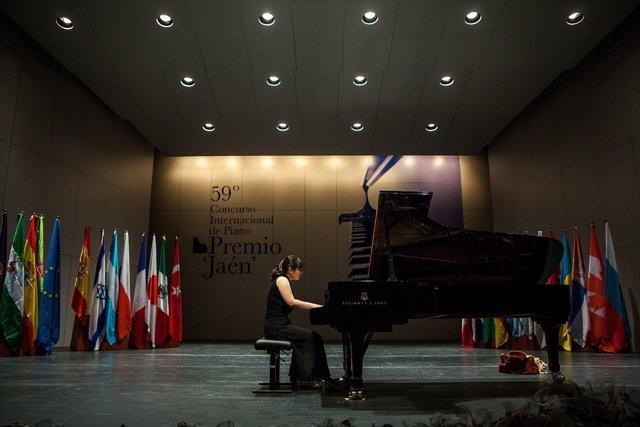 Primera fase del Premio Jaén de Piano