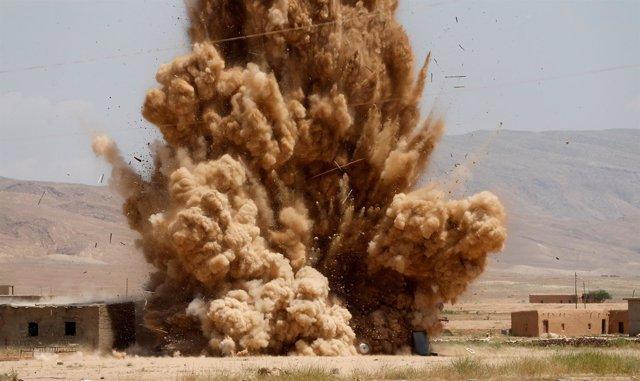 Ataques en la región iraquí de Sinyar