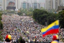 La oposición venezolana volverá a manifestarse este miércoles en Caracas