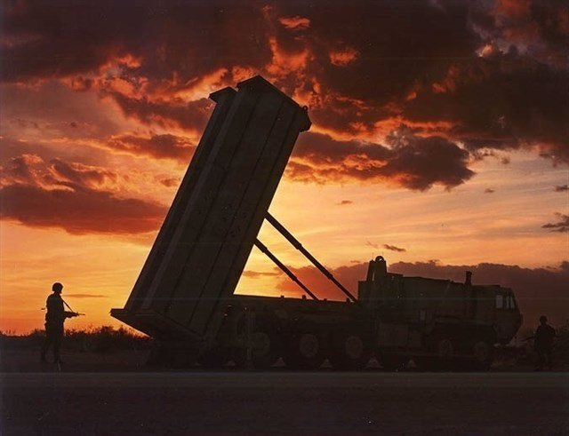 Sistema de defensa THAAD