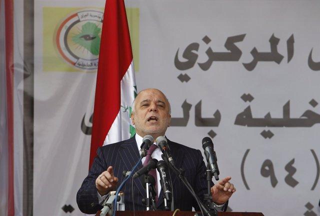 El primer ministro de Irak, Haider al Abadi