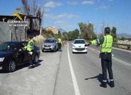 La Guardia Civil sanciona por exceso de velocidad al 8,46% de los 16.830 vehículos controlados durante la Semana Santa