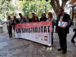 PSIB, MÉS, Podemos, EUIB y sindicatos aseguran que la reforma laboral ha incrementado la siniestralidad
