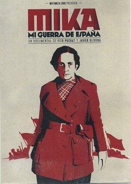 El IEA acoge la proyección del documental 'Mika. Mi guerra de España'