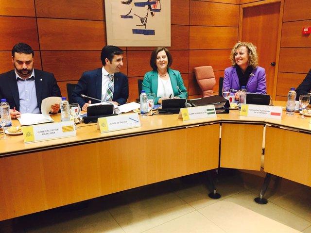 Reunión del Consejo Territorial de Servicios Sociales en Madrid
