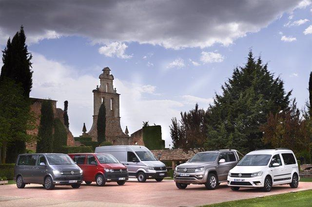 Gama de Volkswagen Vehículos Comerciales