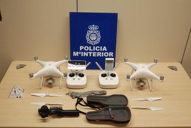 Drones y cámara