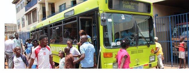 Autobús Fundación Atabal