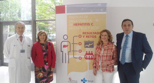 Inauguración de la jornada sobre hepatitis C