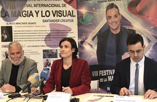 Presentación del VIII Festival de la Magia y lo Visual
