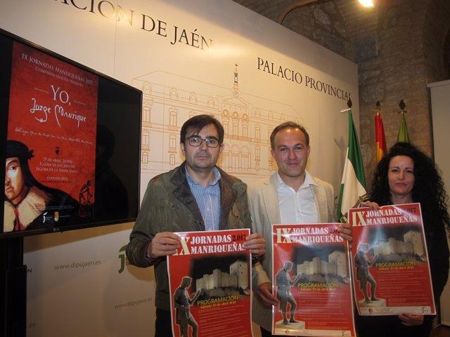 Presentación de las IX Jornadas Manrriqueñas.