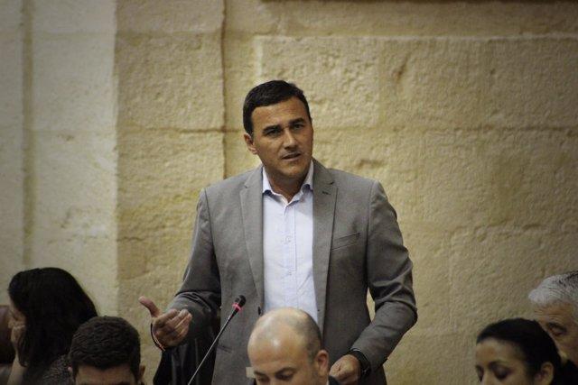 Carlos Hernández, diputado de Ciudadanos Andalucía