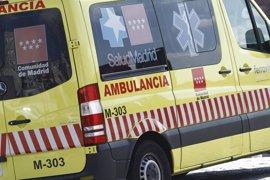 Herida muy grave una joven de 18 tras ser atropellada por un turismo en Las Rozas