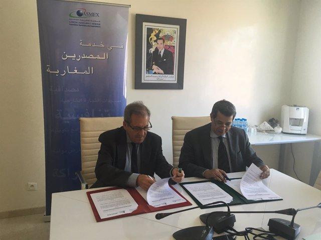 Acuerdo entre Sodercan y la asociación empresarial marroquí ASMEX