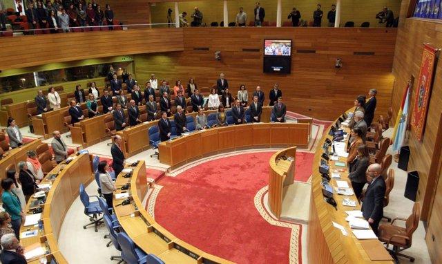 Pleno Del Parlamento De Galicia Del 26 De Abril De 2017