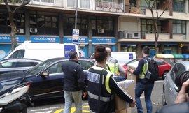 La Policía se lleva varias cajas tras registrar un piso de Jordi Pujol Ferrusola en Barcelona