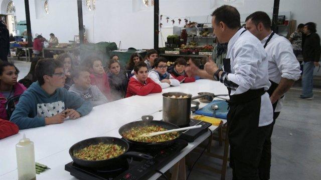 Aula saludable en Castro Urdiales
