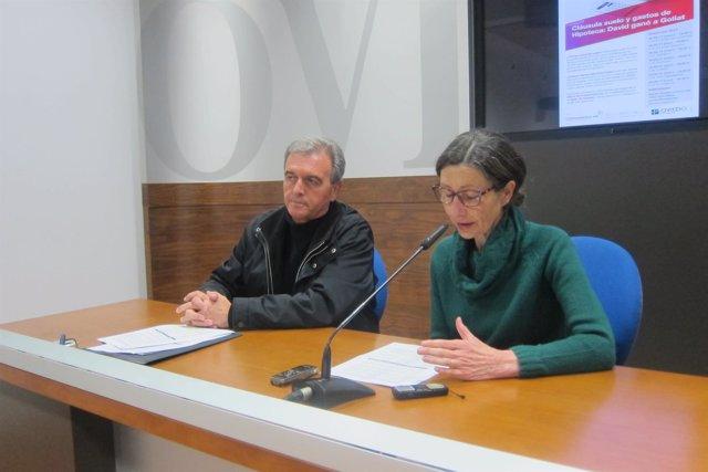Dacio Alonso y Mercedes Fernández.