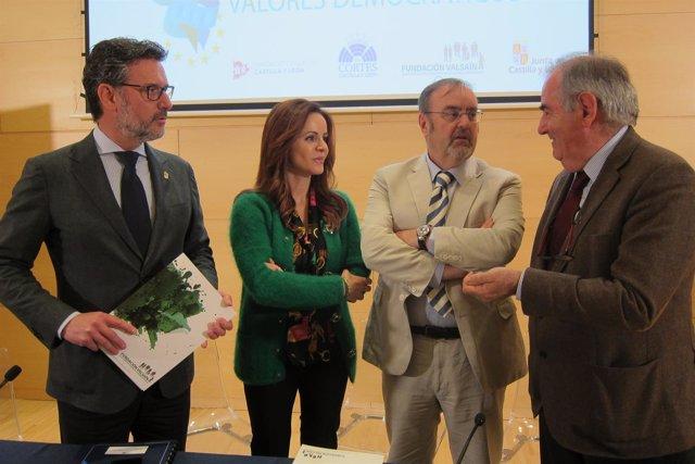 Valladolid. Preentación del Premio Valores Democráticos