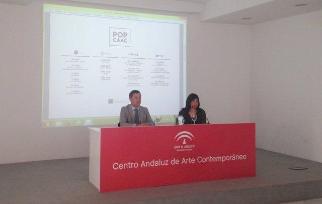 Presentación de la II edición de POP CAAC