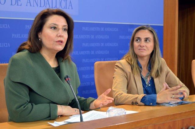 Carmen Crespo y Marifrán Carazo