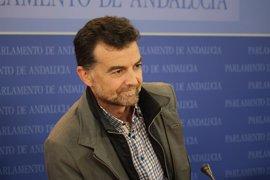 """Maíllo apela a la confluencia con Podemos para construir un bloque """"poderoso"""" que """"impugne el gobierno del PSOE-A"""""""